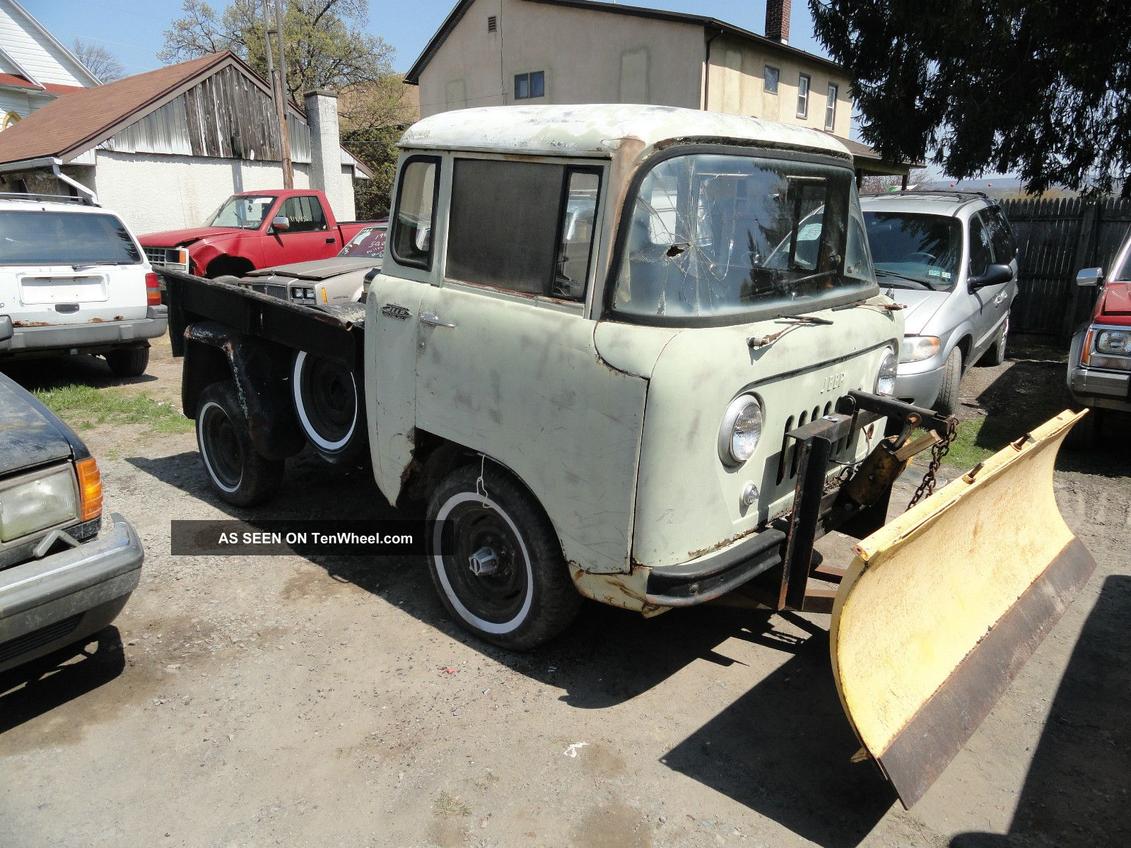 1960 Jeep Willys Fc - 140 Plow Truck. .  Runs And Drives Other Makes photo