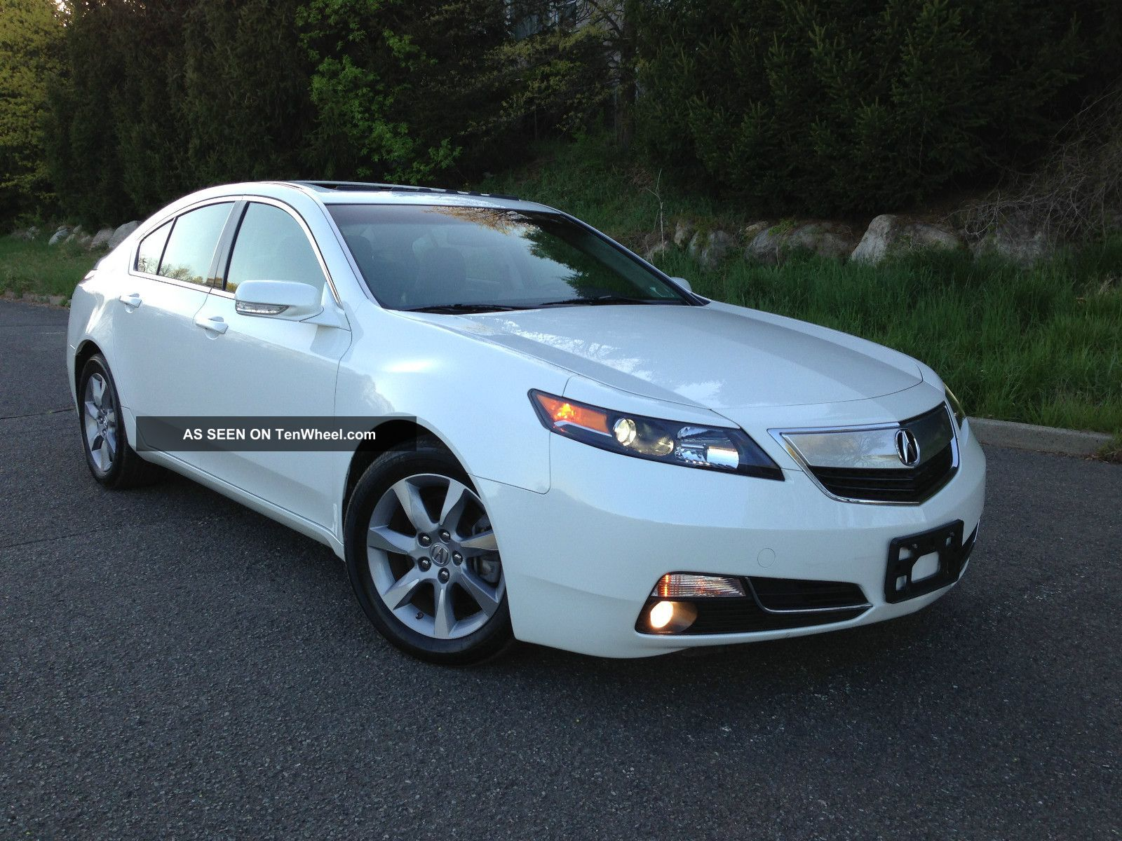 2012 Acura Tl Base Sedan 4 Door 3 5l