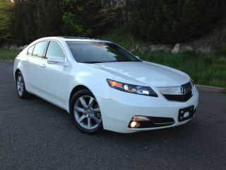 2012 Acura Tl Base Sedan 4 - Door 3.  5l photo