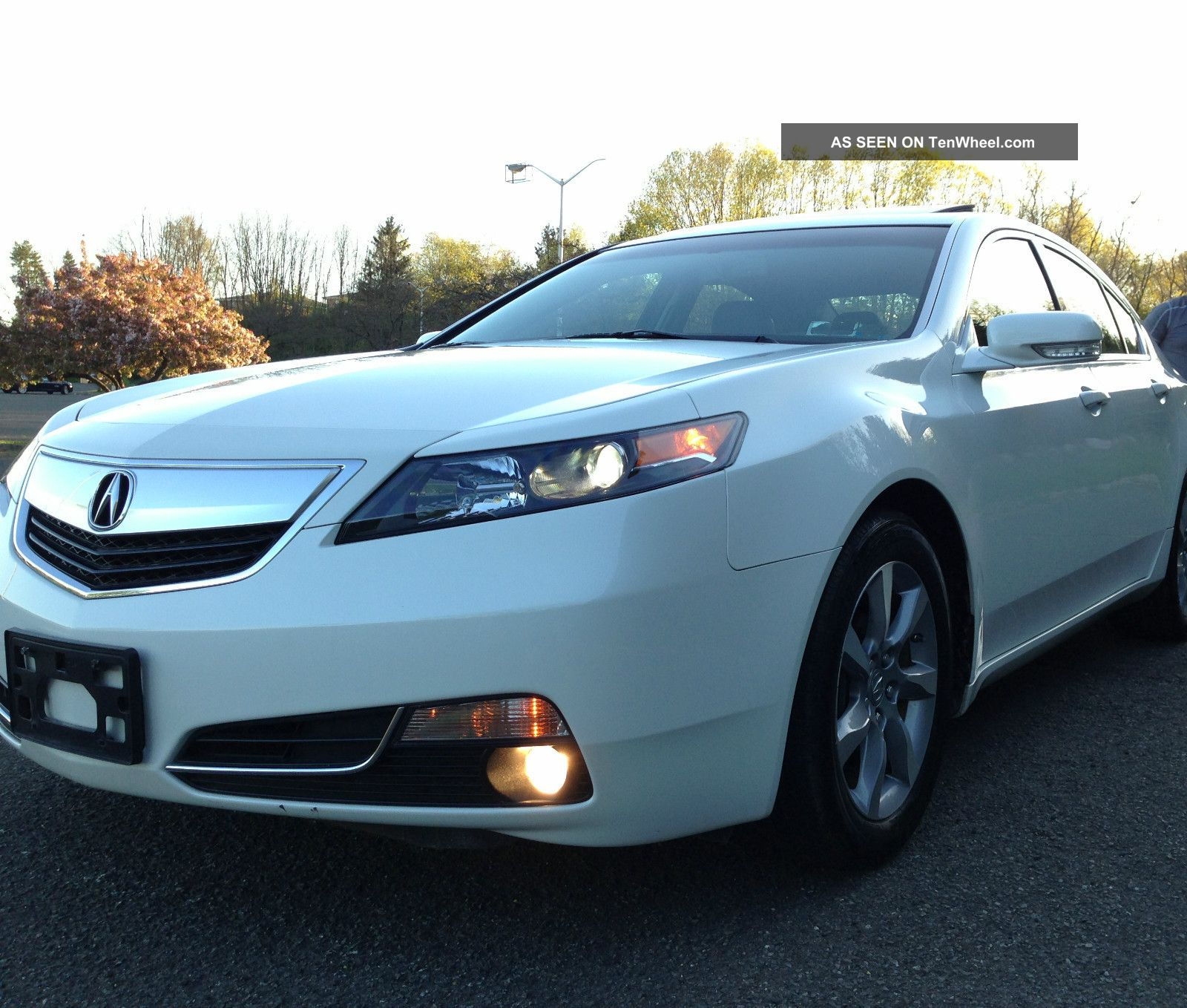 2012 Acura Tl Base Sedan 4