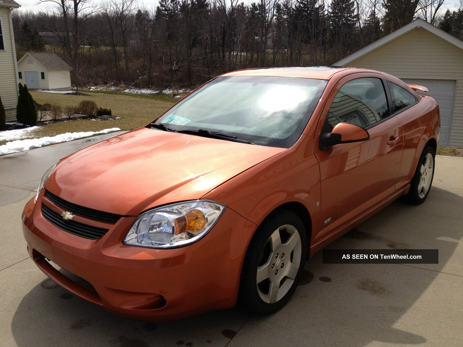 2006 chevrolet cobalt ss coupe 2 door 2 4l orange 5. Black Bedroom Furniture Sets. Home Design Ideas