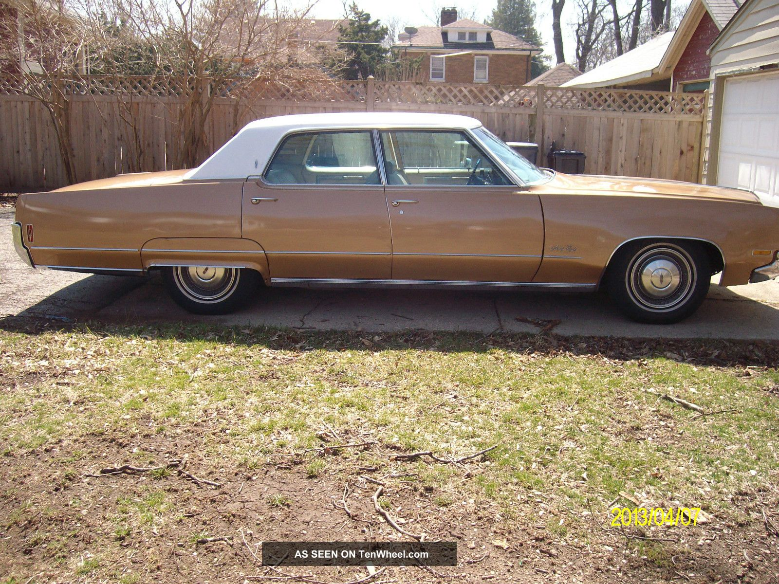 1970 Oldsmobile 98 Base 7 5l