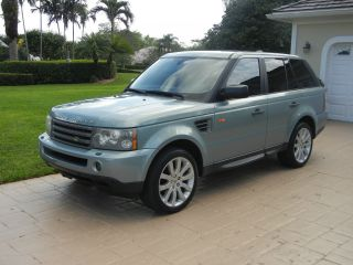 2008 Range Rover Hse Sport 4 Door Luxury Sport Utility photo