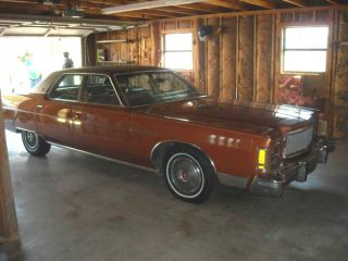 1977 Mercury Grand Marquis Base Hardtop 4 - Door 6.  6l photo