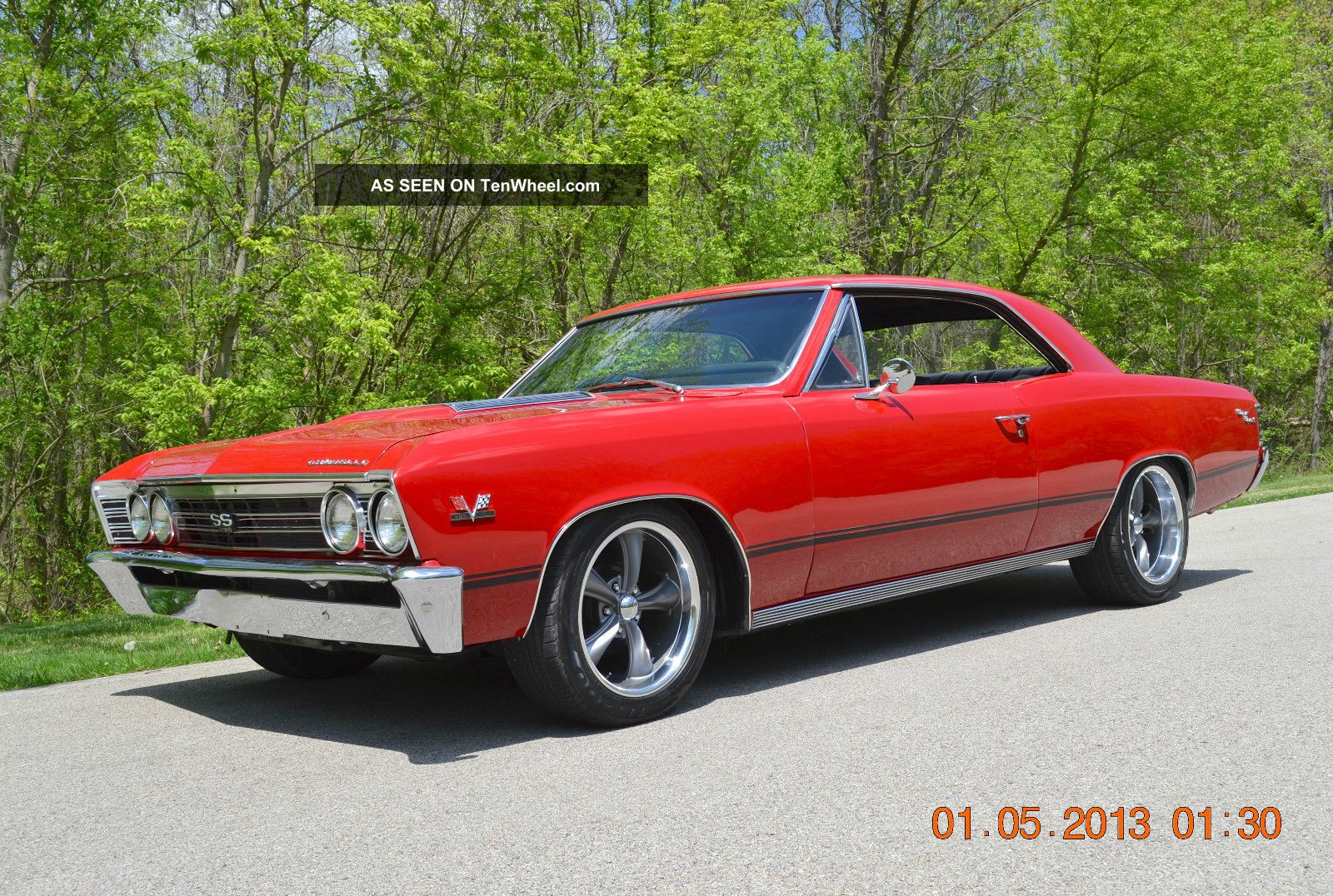 1967 Chevelle Ss Pro Touring Look Strong 406 Condition Awesome Stance Chevelle photo