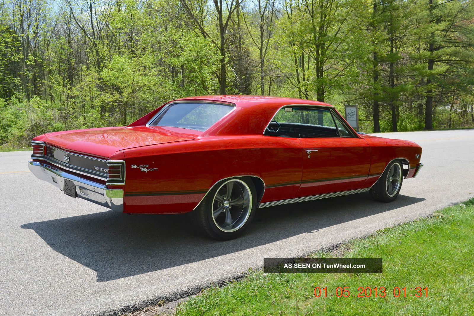 1967 Chevelle Ss Pro Touring Look Strong 406 Condition Awesome Stance Plymouth Fury Engine Diagram