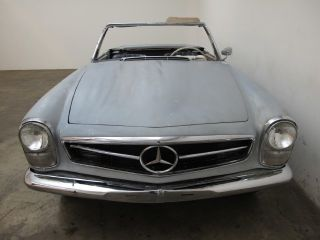 Mercedes Sl 230 1966,  Both Tops,  Excellent Project, photo