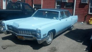 Cadillac 1967 Fleetwood Brougham Welll Maintained photo