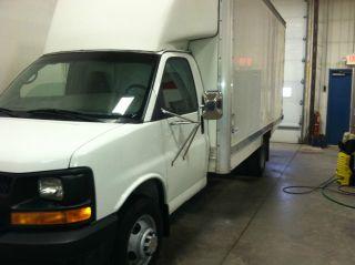 2004 Chevrolet Express 3500 Base Cutaway Van 2 - Door 6.  0l photo