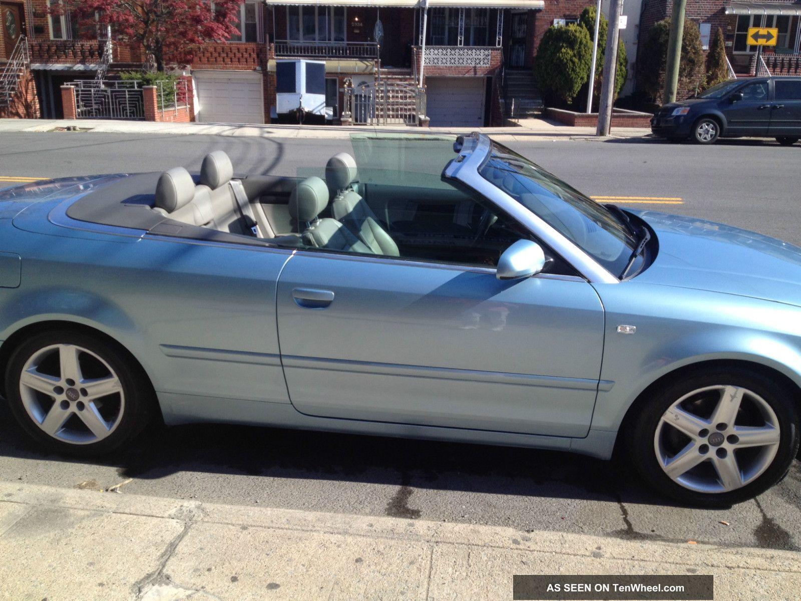 2005 audi a4 cabriolet convertible 2 door 1 8l. Black Bedroom Furniture Sets. Home Design Ideas