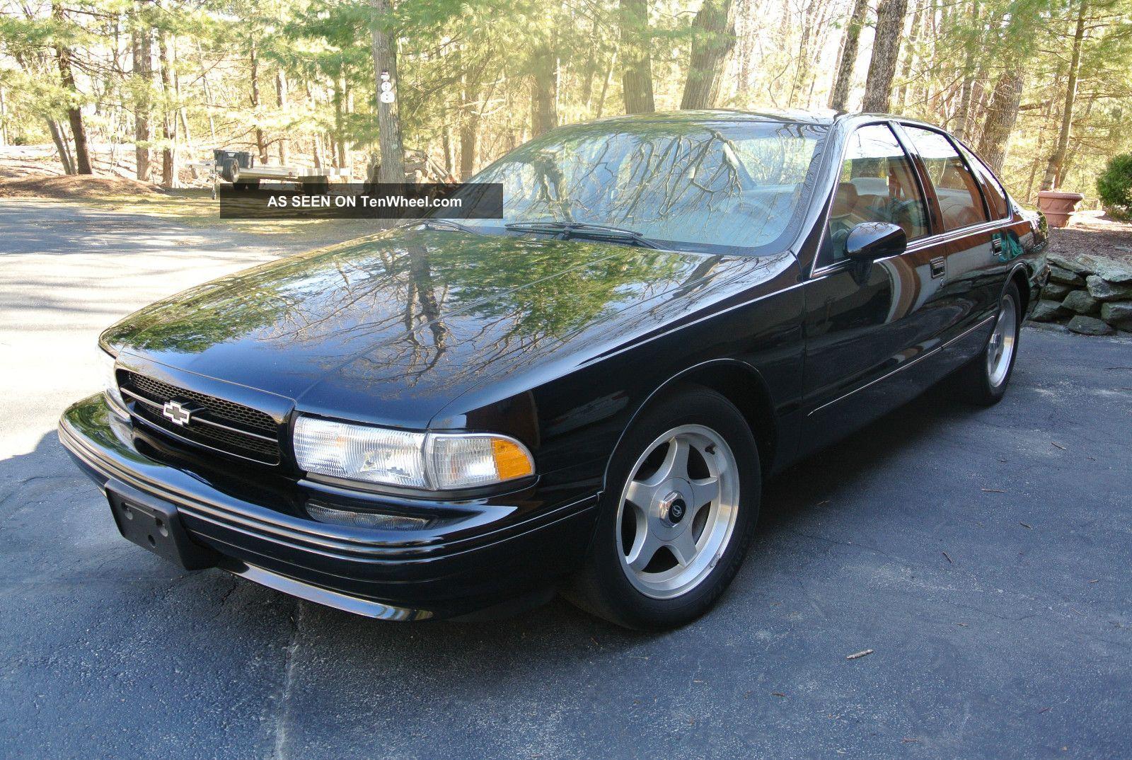 1994 Chevrolet Impala Ss Sedan 4 - Door 5.  7l Impala photo
