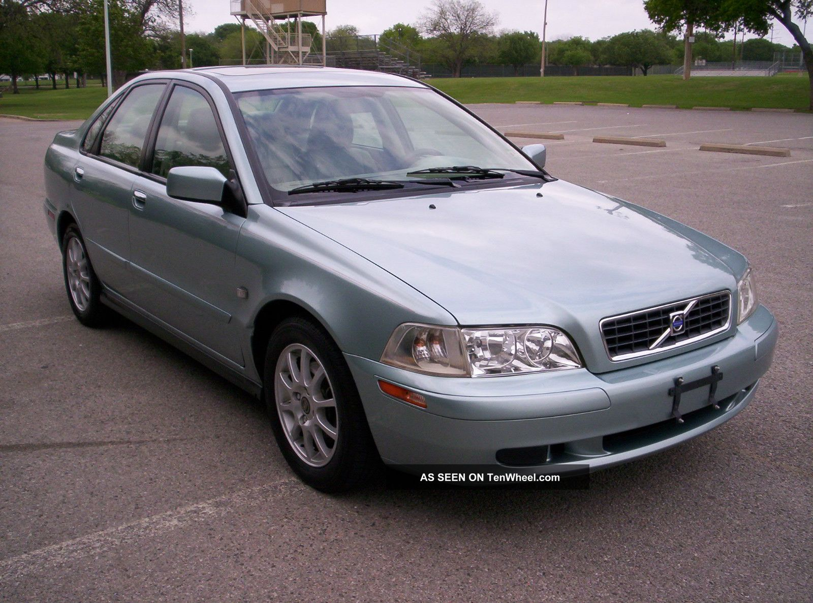 2003 Volvo S40 1 9t Turbo Rare Tin Silver 102k Texas No