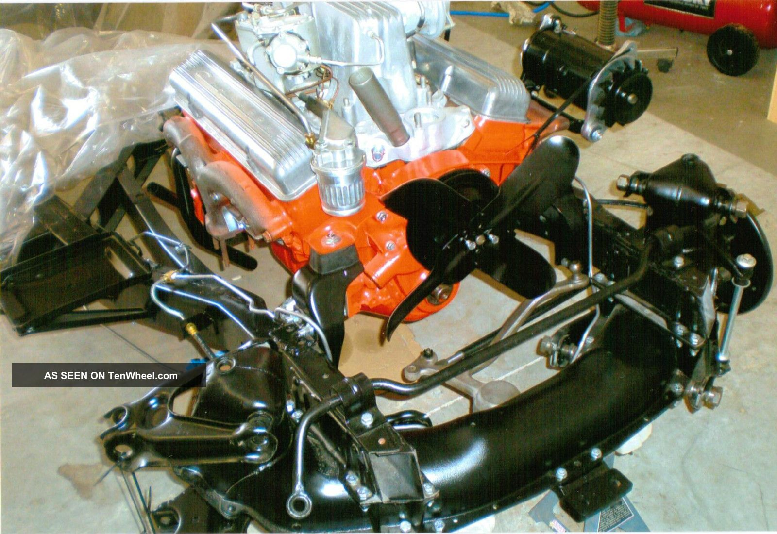 1957 Chevrolet Corvette 283ci Fuel Injection / Automatic Transmission Corvette photo