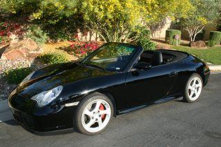 2005 Porsche 911s Cabriolet C4s Like 2006 Turbo Look 930 photo