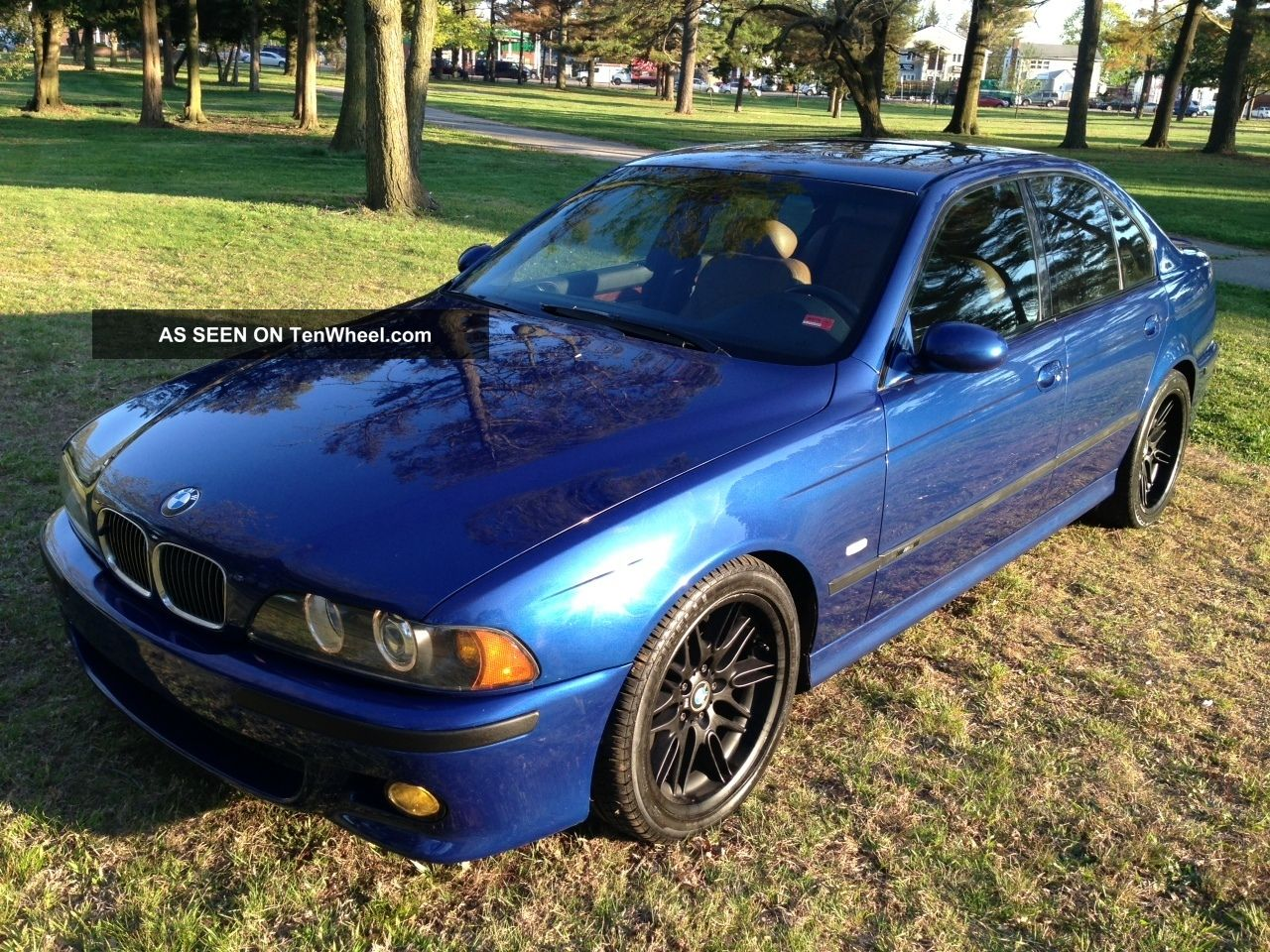 2000 Bmw M5 Lemans Blue / Caramel M5 photo