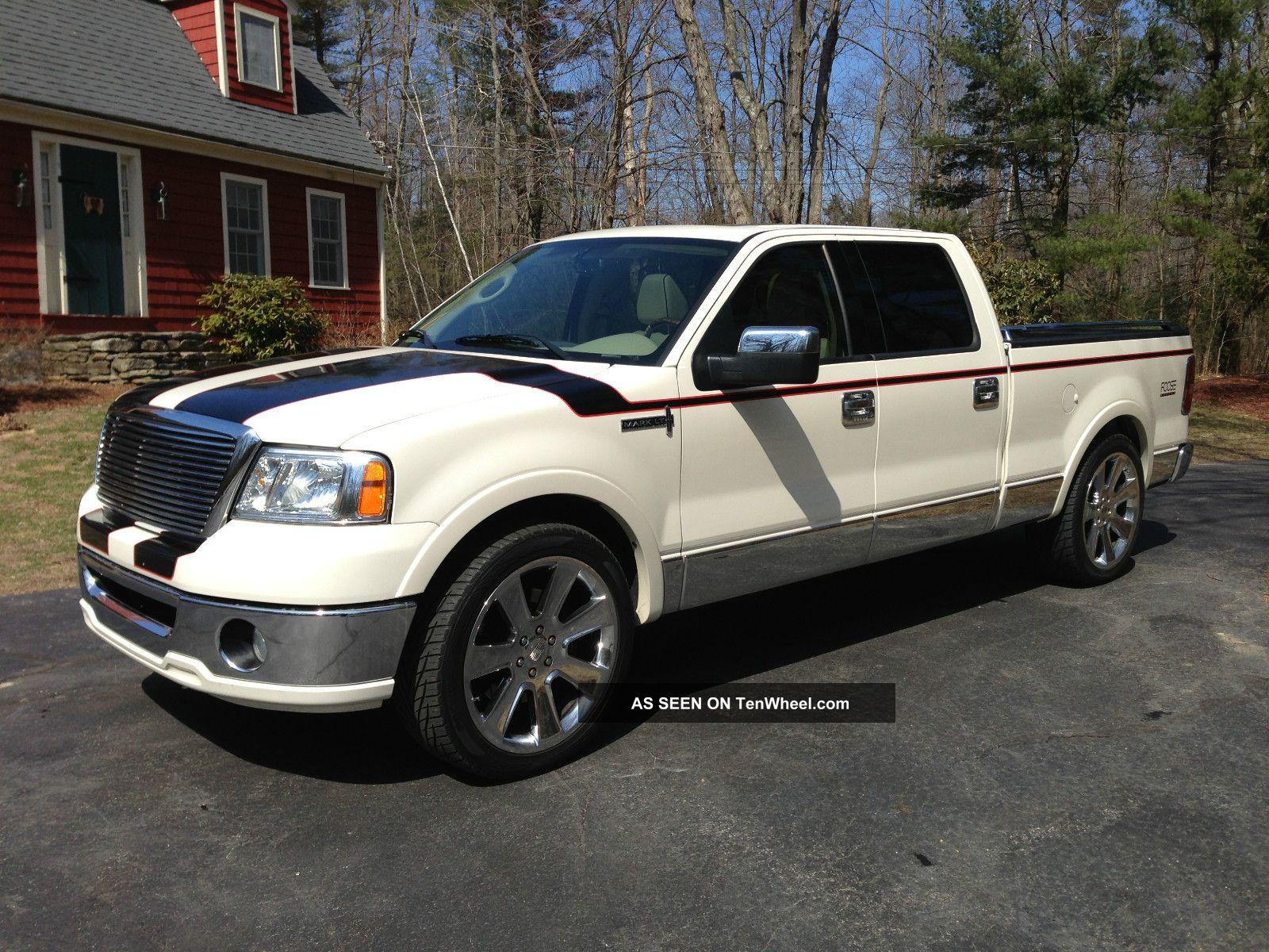 Custom 2008 Lincoln Mark Lt Crew Cab Pickup 4 Door 4wd 5