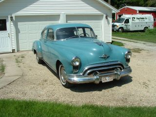 1949 Oldsmobile Futuramic 78 Deluxe 4 Door Sedan - Remained W / Family Since photo