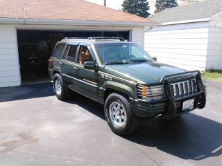 1996 Jeep Grand Cherokee Limited Sport Utility 4 - Door 4.  0l photo