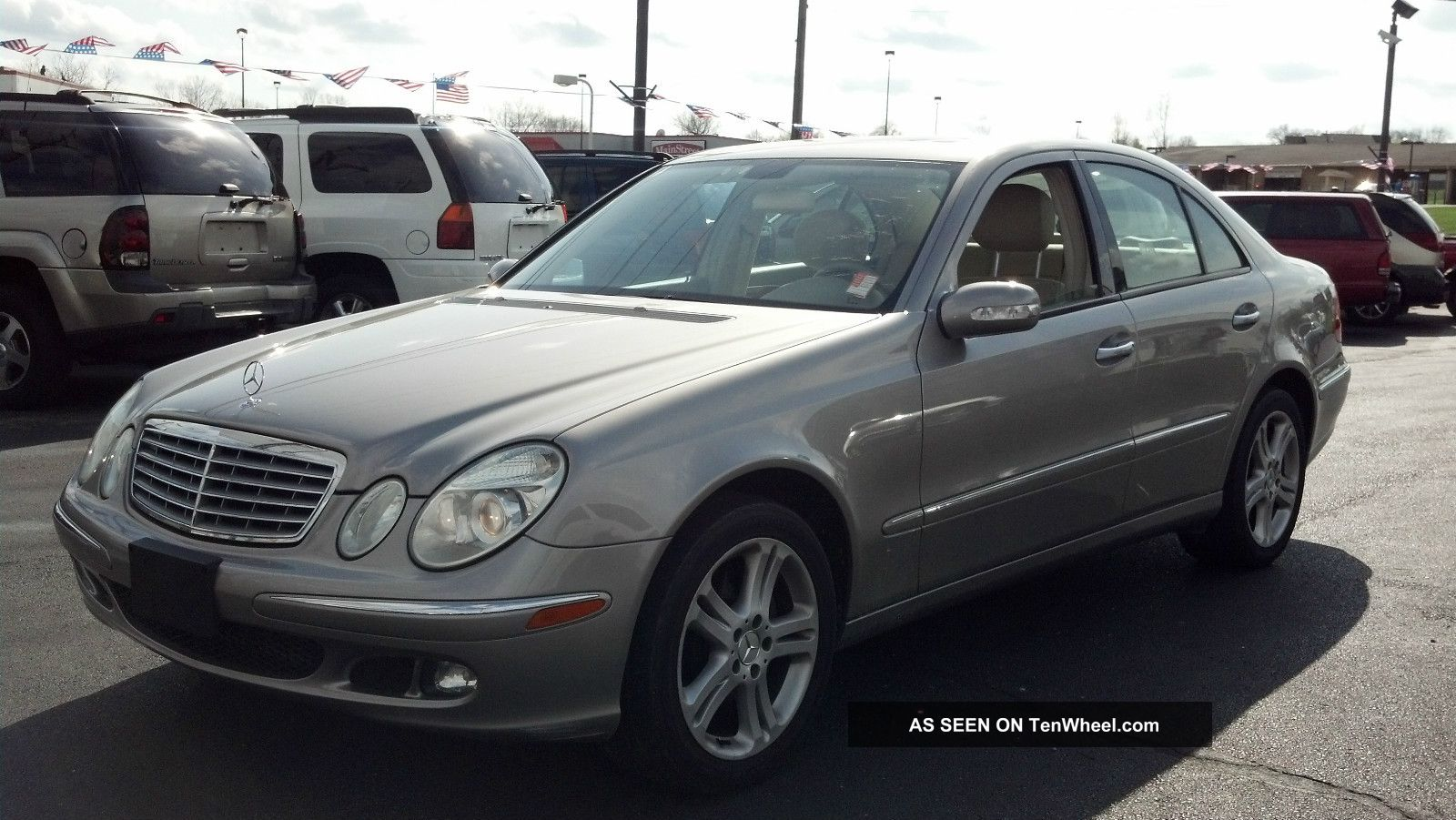2006 mercedes benz e350 4matic sedan 4 door 3 5l