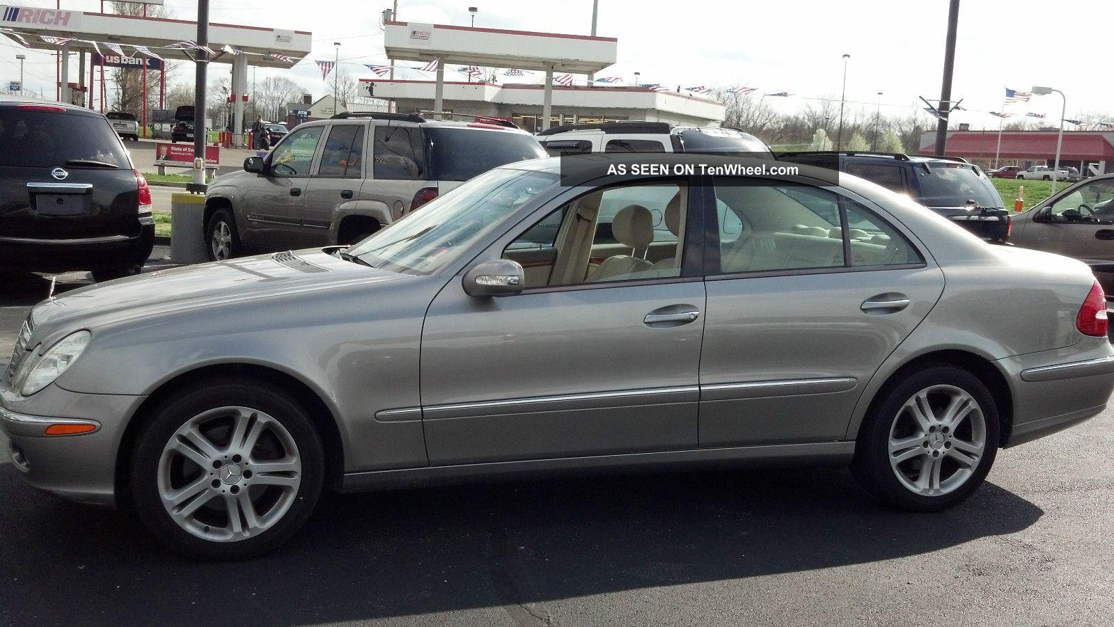 2006 Mercedes Benz E350 4matic Sedan 4 Door 3 5l