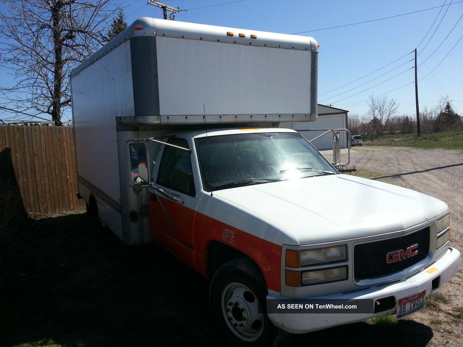 similiar gmc box truck models keywords truck model autos weblog 1994 gmc c3500 hd sierra u haul box truck