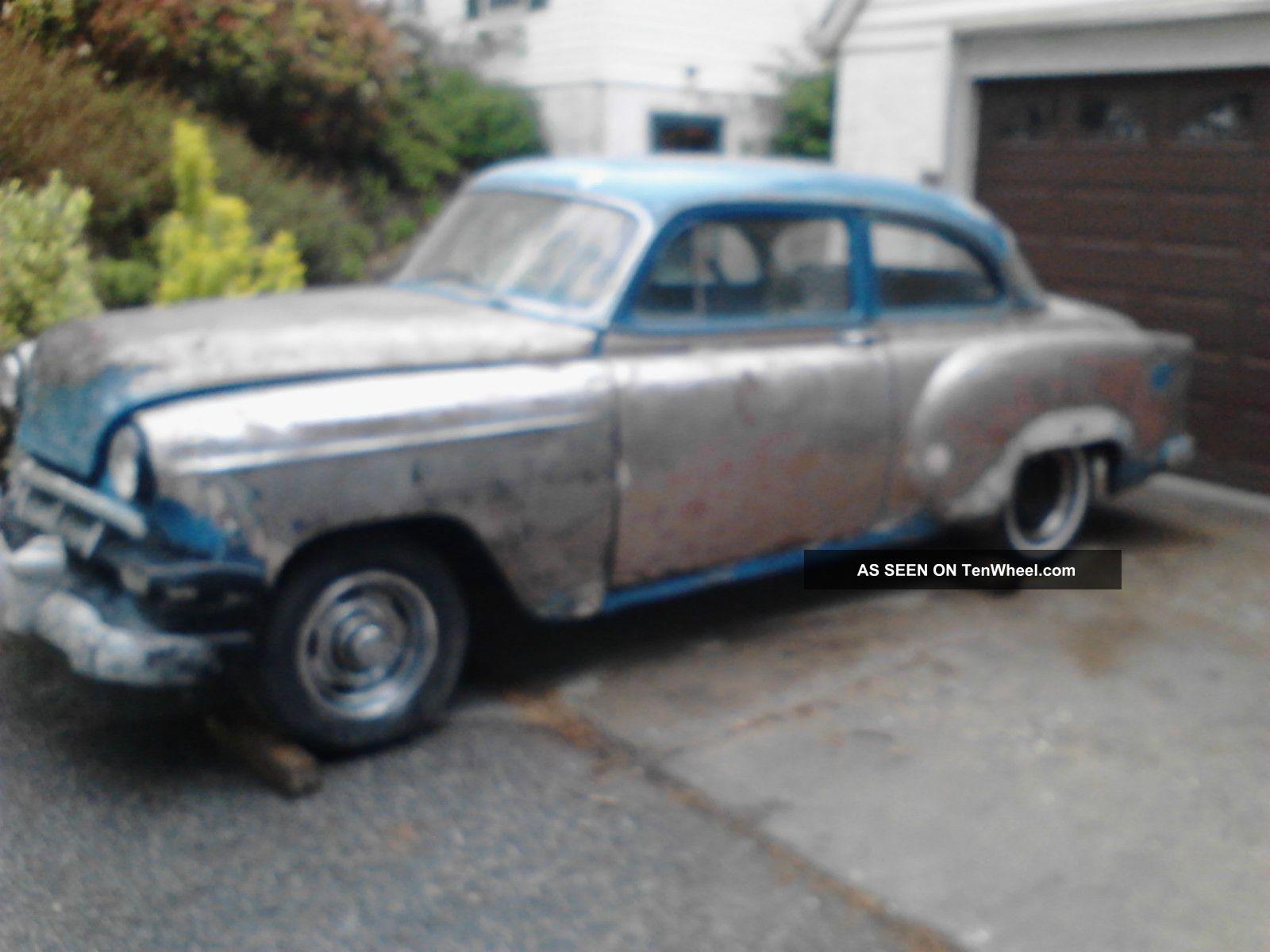 1954 chevrolet 150 210 two door post street rod rat for 1954 chevy 210 2 door