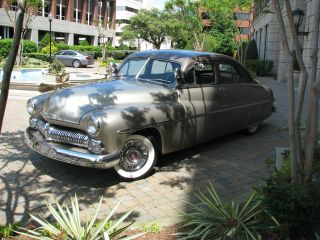 1950 Mercury Sports Sedan - Mild Custom - Dual Carburetors - V8 W / Overdrive photo