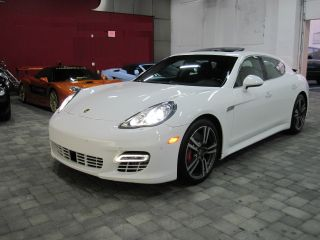 2011 Porsche Panamera Turbo Hatchback 4 - Door 4.  8 photo