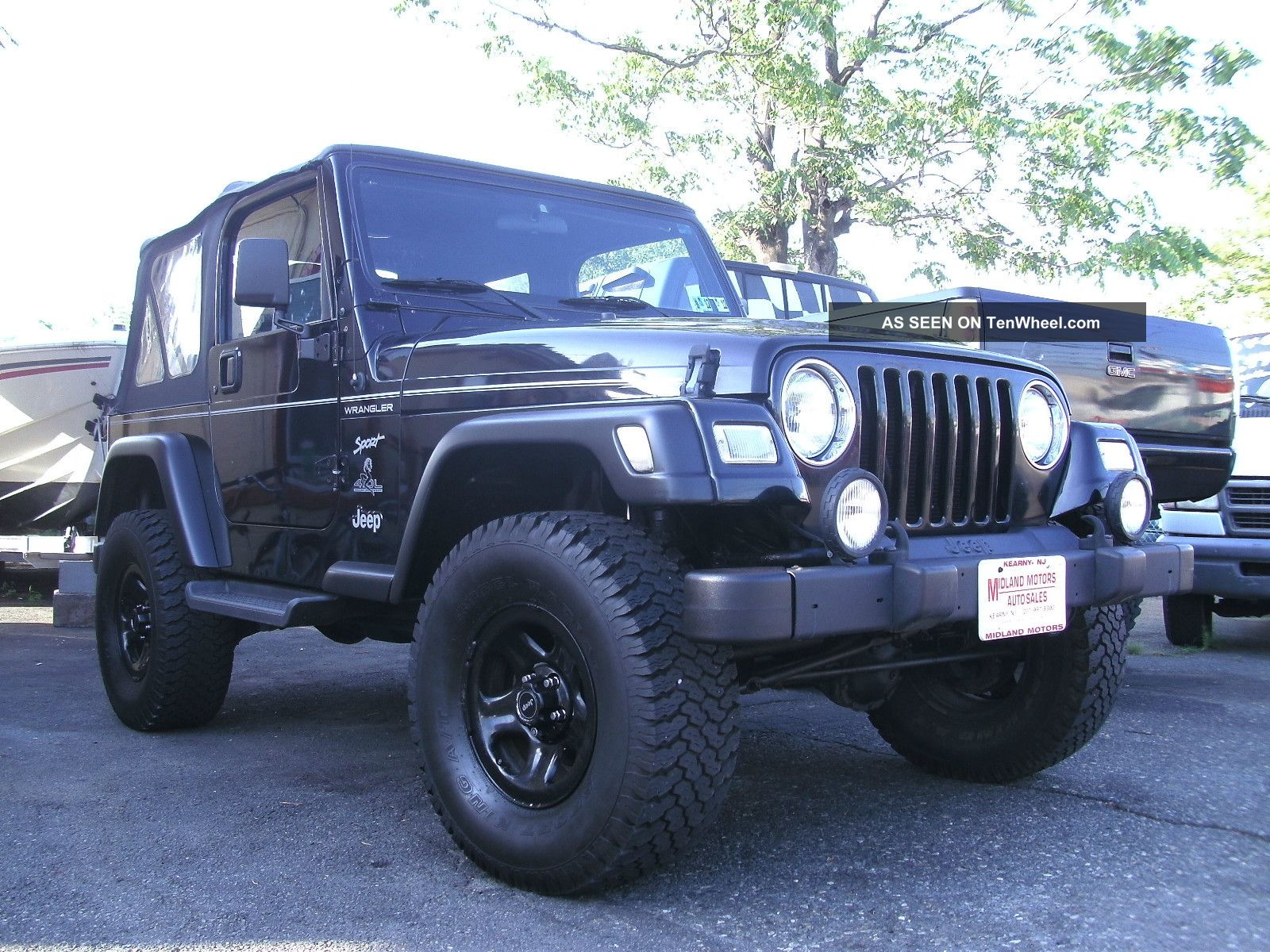 2001 jeep wrangler sport 4x4 6 cyl many extras. Black Bedroom Furniture Sets. Home Design Ideas