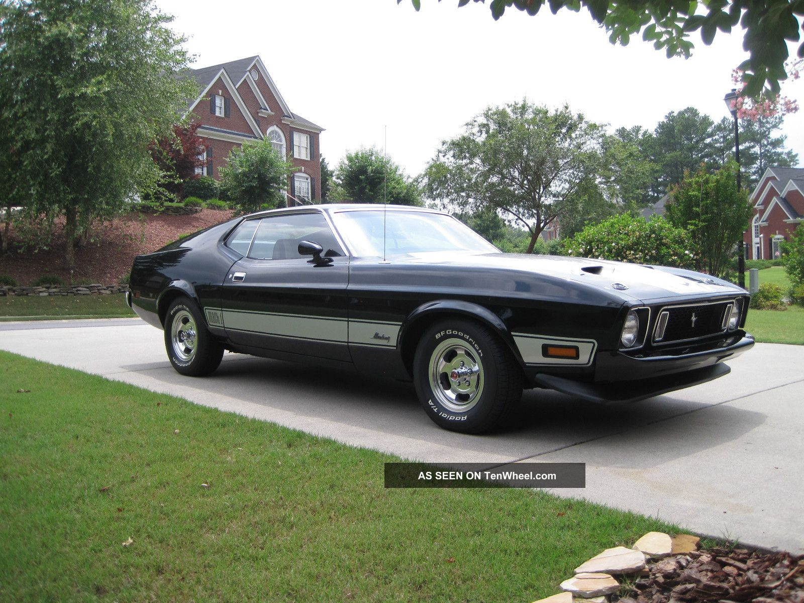 1973 mach 1 mustang garage kept drive. Black Bedroom Furniture Sets. Home Design Ideas