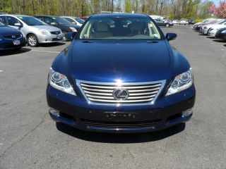 2011 Lexus Ls460. .  Blue / Tan. .  Loaded. .  Serviced 1 - Owner. . photo