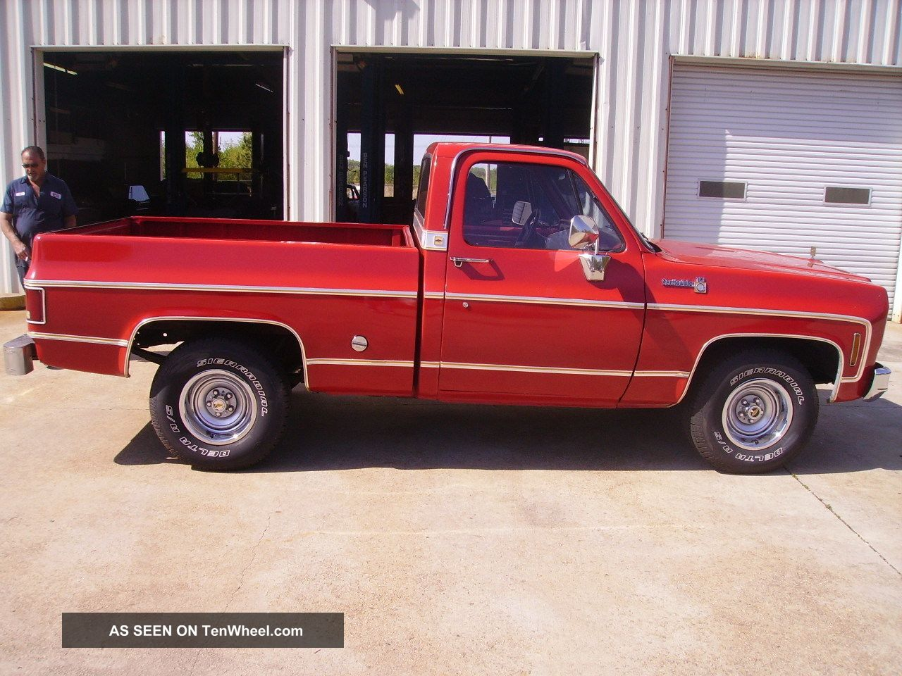 1977 Chevy Scottsdale Truck Factory Bb Engine P S B A Gm Lgw C Driver