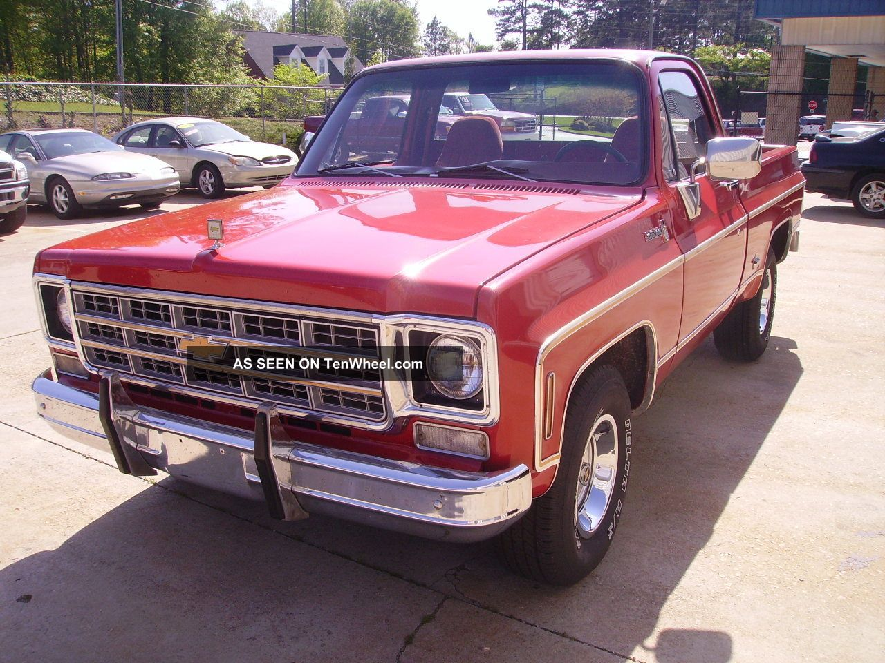 Chevy Scottsdale Truck Factory Bb Engine P S P B Factory A C Driver Lgw on 1977 Dodge Power Wagon 150 Specs