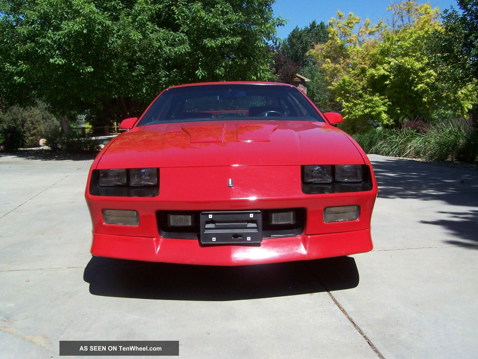 1991 Chevrolet Camaro Z28 Coupe 2 Door 5 7l
