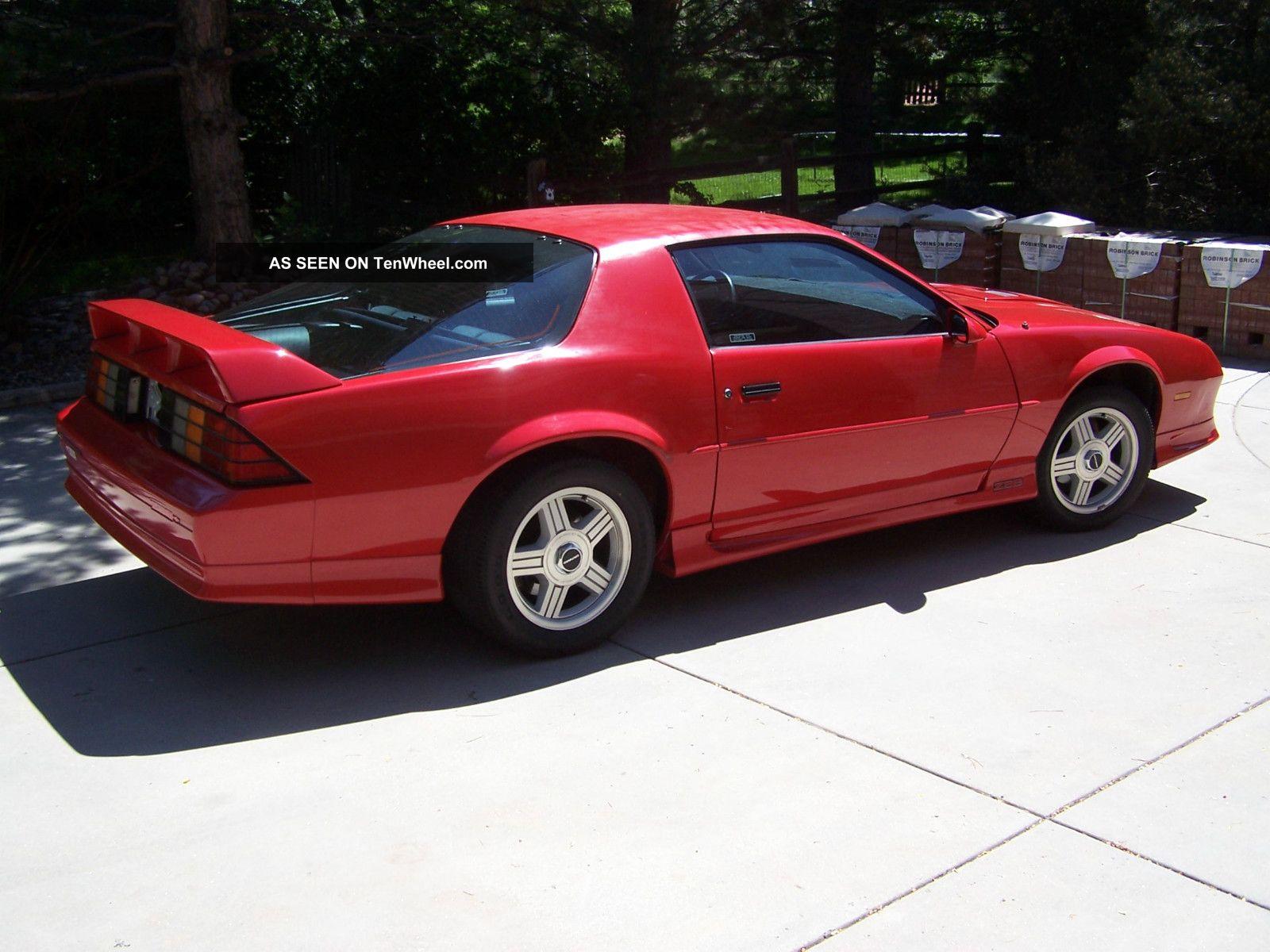 1991 Chevrolet Camaro Z28 Coupe 2 Door 5 7l