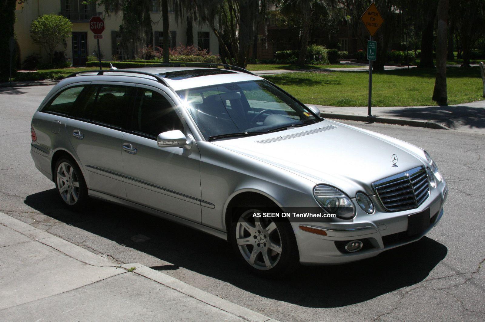 2007 mercedes benz e350 4matic wagon 4 door 3 5l for 2007 mercedes benz e 350