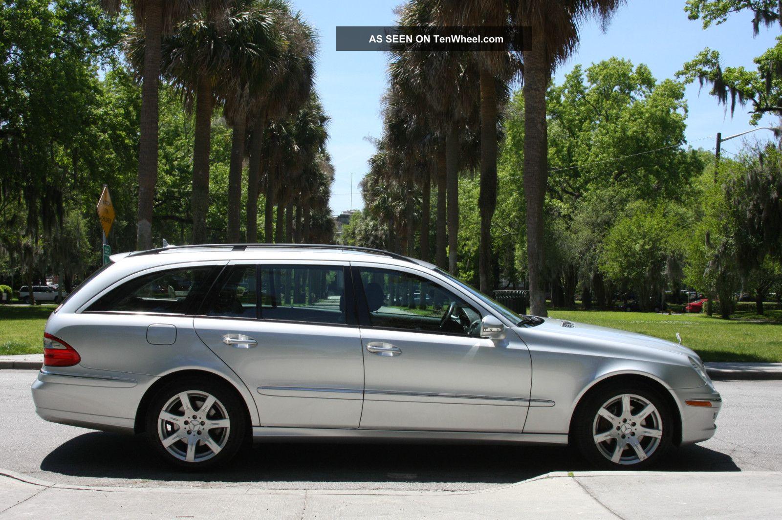 2007 mercedes benz e350 4matic wagon 4 door 3 5l for Mercedes benz e350 wagon