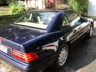 1997 Mercedes - Benz Sl600 Base Convertible 2 - Door 6.  0l photo
