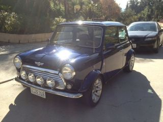 1976 Classic Mini Cooper Spi 1.  3 Fuel Inj photo