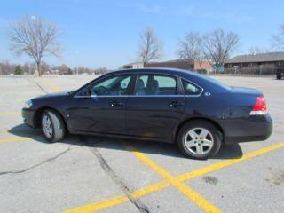 2008 Chevrolet Impala Ls,  Blue photo