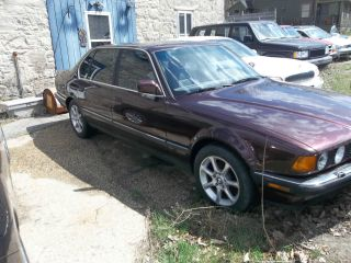 1991 Bmw 735il Base Sedan 4 - Door 3.  5l photo