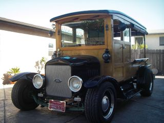 1921 Ford Woody Delivery Wagon photo