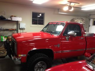 1985 Chevy K10 Pick 4x4 photo