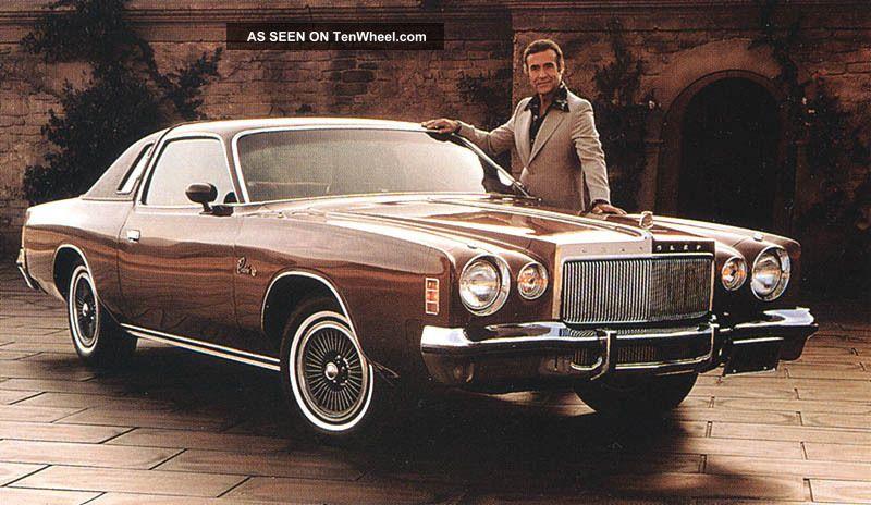 1977 Chrysler Cordoba,  Fantasy Island Special 400 V8,  Good Looking & Running Other photo