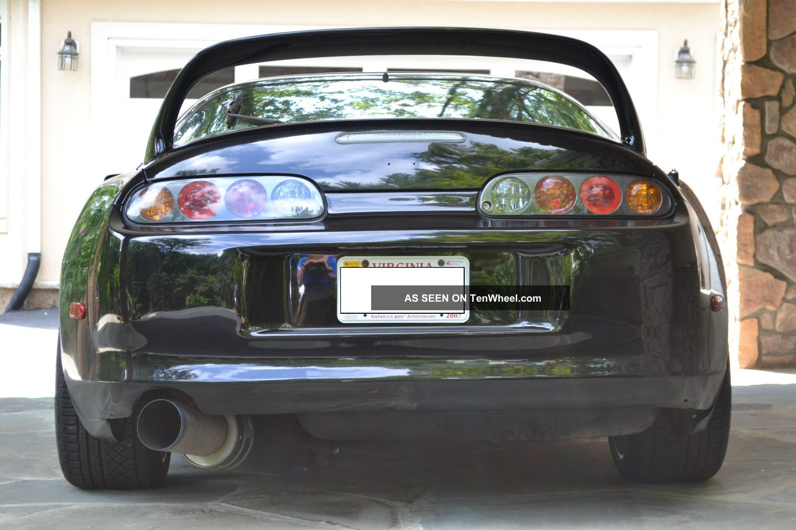1998 toyota supra twin turbo hatchback 2 - door 3. 0l