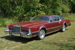 1976 Lincoln Mark Iv Base Coupe 2 - Door 7.  5l photo
