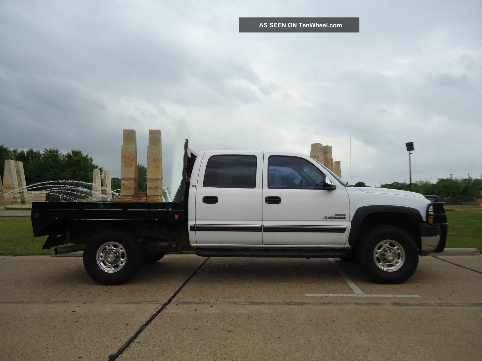 2002 Chevrolet Silverado 2500hd 4x4 Diesel Flatbed Air Ride Look Toyota Pickup Fuse Box Removal