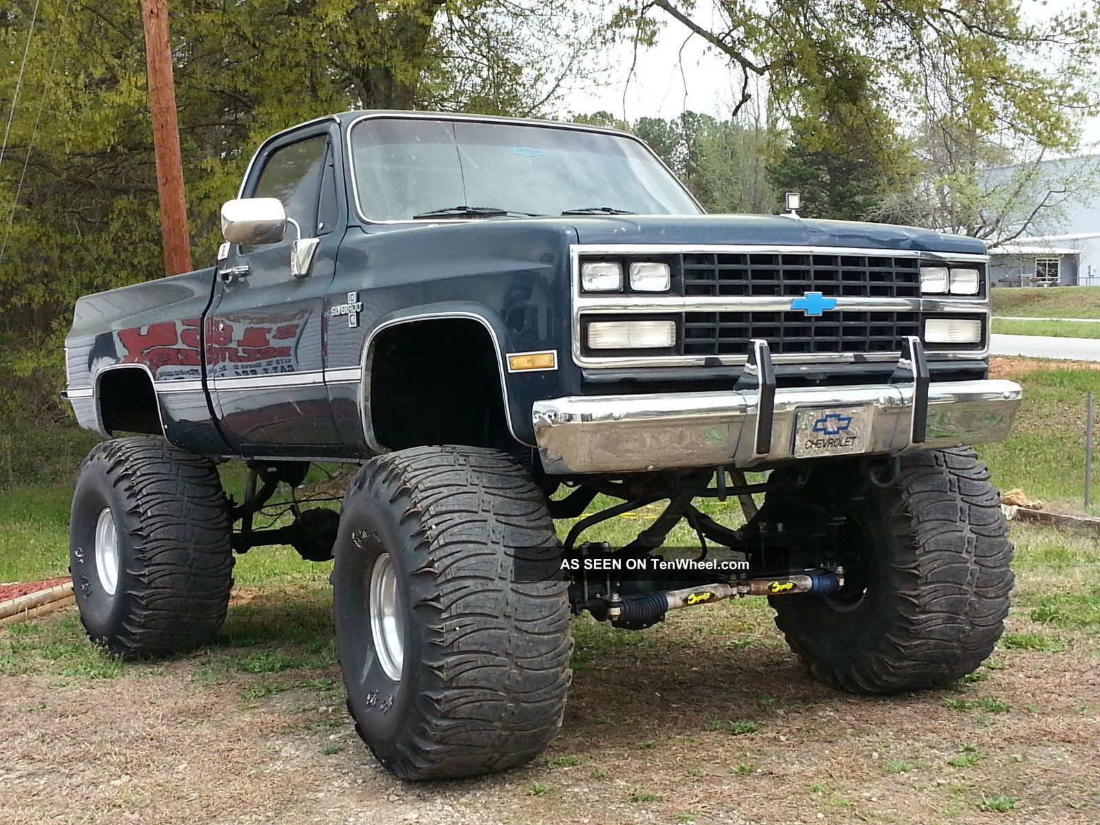 1985 Lifted Chevy Silverado 44 S 16 Quot Lift