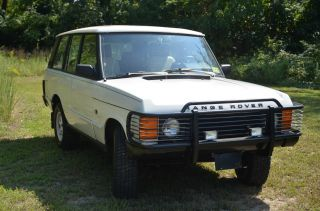 1989 Land Rover Range Rover photo