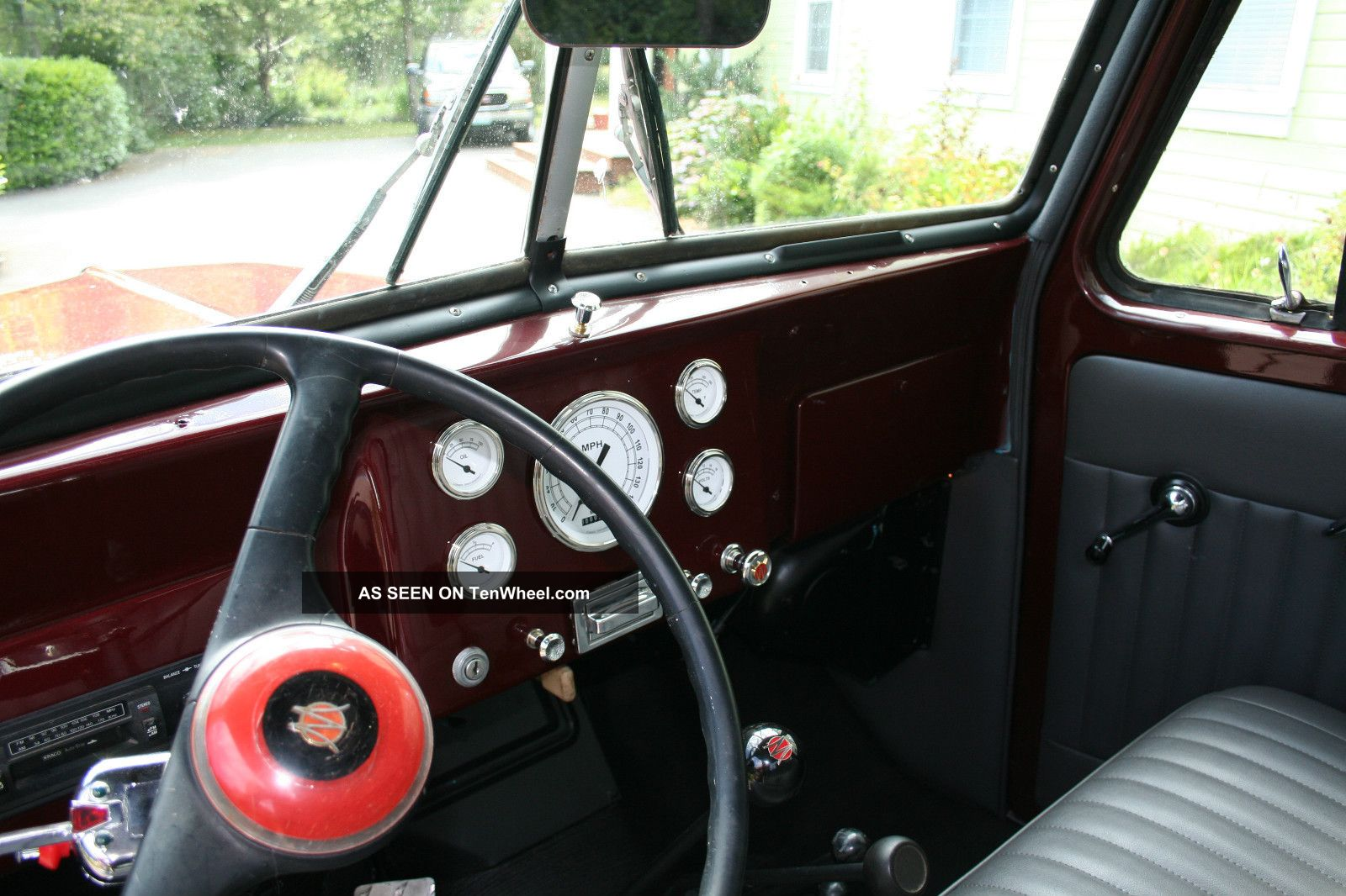 Willys Pickup Truck Wd Paint Interior Some Mechanicals Lgw